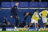 Ex Chelsea player, John Terry, currently Aston Villa's Assistant Head Coach, on the pitch ahead of kick-off during Chelsea vs Aston Villa, Premier League Football at Stamford Bridge on 4th December 2019
