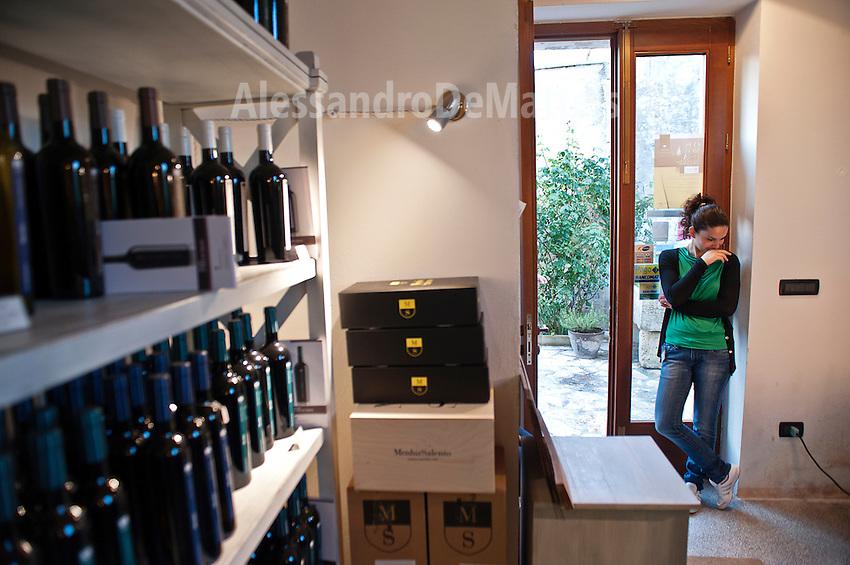 """Cantine Aperte 2012 - 20ima edizione - 27 maggio 2012 - Cantina """"Menhir"""" - Minervino di Lecce."""