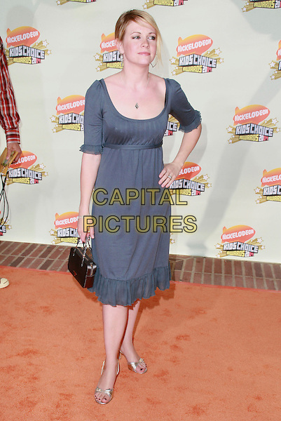 MELISSA JOAN HART.20th Annual Nickelodeon Kids' Choice Awards held at UCLA's Pauley Pavilion, Westwood, California, USA..March 31st, 2007.full length blue dress hand on hip.CAP/ADM/CH.©Charles Harris/AdMedia/Capital Pictures