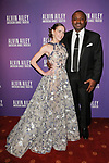 """Abigail Simon and Robert Battle arrive at the Alvin Ailey American Dance Theater """"Modern American Songbook"""" opening night gala benefit at the New York City Center on November 29, 2017."""