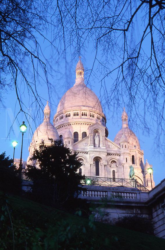 France Paris The Basilica of Sacre Coeur