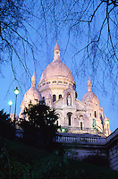 France Paris The Basilica of Sacre Coeur