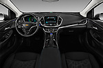 Stock photo of straight dashboard view of 2016 Chevrolet Volt LT 5 Door Hatchback Dashboard