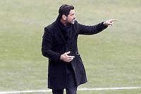 Getafe's coach Quique Sanchez Flores during La Liga match.January 18,2013. (ALTERPHOTOS/Acero) /NortePhoto<br /> NortePhoto.com