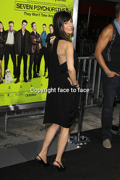 "Perrey Reeves at the premiere of CBS Films ""Seven Psychopaths"" at Mann Bruin Theatre in Westwood, Los Angeles, California on 1.10.2012..Credit: MediaPunch/face to face..- Germany, Austria, Switzerland, Eastern Europe, Australia, UK, USA, Taiwan, Singapore, China, Malaysia and Thailand rights only -"