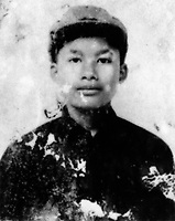 Nhem Ein, the Khmer Rouge photographer at the S-21 detention centre at Tuol Sleng, where over 16,000 inmates were killed between 1975 and 1979. He joined the Khmer at the age of 10, and is pictured here at about 16 years old. He was tasked with photographing every prisoner before they were killed.