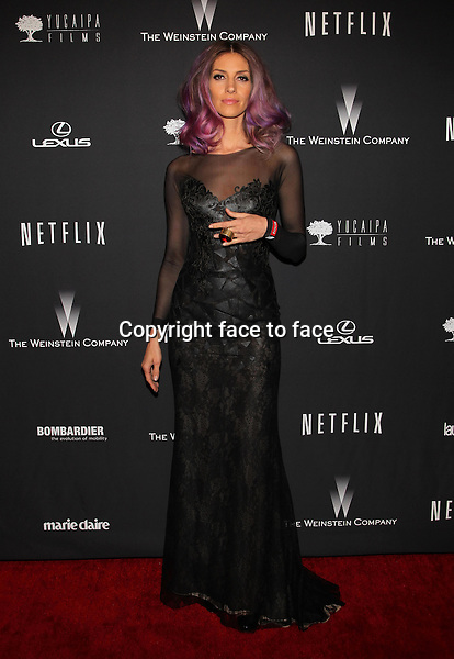 Beverly Hills, California - January 12: Dawn Olivieri at The Weinstein Company &amp; Netflix 2014 Golden Globes After Party on January 12, 2014 at The Beverly Hilton Hotel, California. <br />