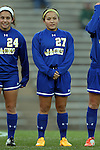 14 November 2014: South Dakota State's Julia Lam. The University of North Carolina Tar Heels hosted the South Dakota State University Jackrabbits at Fetzer Field in Chapel Hill, NC in a 2014 NCAA Division I Women's Soccer Tournament First Round match. UNC won the game 2-0.