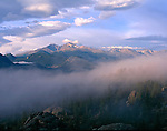 Longs Peak, Mount Meeker, Mount Lady Washington, Rocky Mountain National Park, Colorado