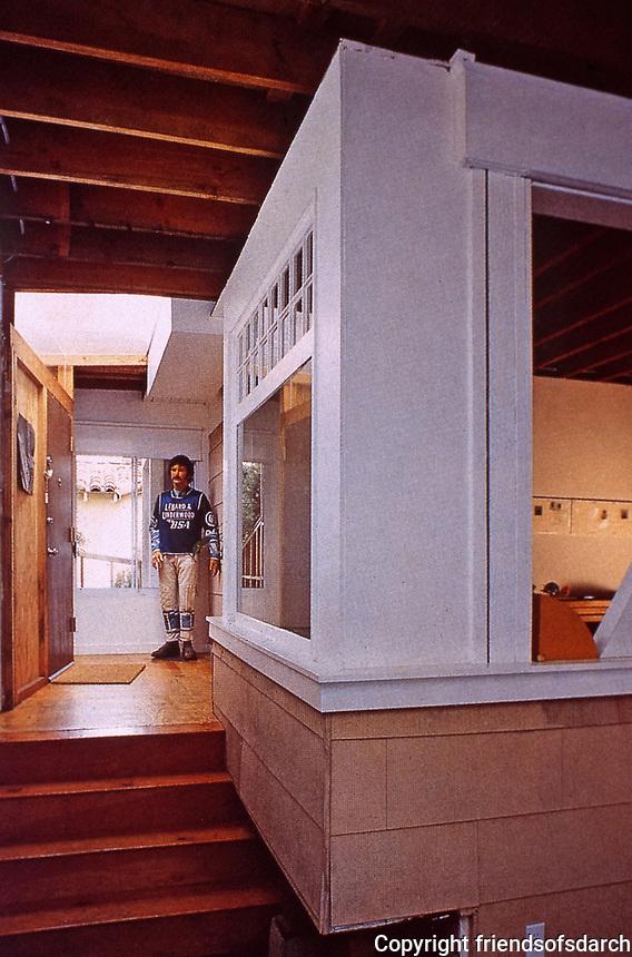 Frank Gehry House, Santa Monica. Post-modern style. Photo April 2000.