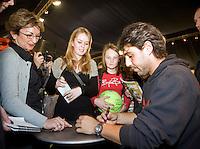 18-2-08, Netherlands, Rotterdam ABNAMROWTT 2008, interview baghdatis.