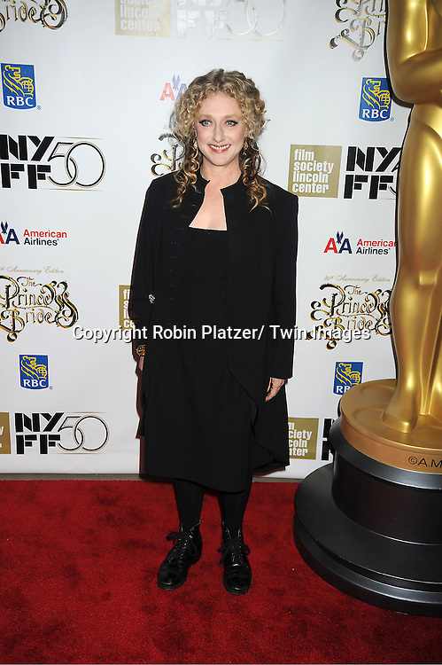 "Carol Kane arrives at ""The Princess Bride""  screening presented by the Film Society of Lincoln Center and the Academy of Motion Pictures Arts and Sciences at the 2012 New York Film Festival on October 2, 2012 at Alice Tully Hall in  New York City. Rob Reiner was the director and the cast included Billy Crystal, Cary Elwes, Caril Kane, Mandy Patinkin, Chris Sarandon and Rboin Wright."