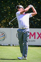 Chris Wood (ENG) watches his tee shot on 3 during round 1 of the World Golf Championships, Mexico, Club De Golf Chapultepec, Mexico City, Mexico. 3/2/2017.<br /> Picture: Golffile | Ken Murray<br /> <br /> <br /> All photo usage must carry mandatory copyright credit (&copy; Golffile | Ken Murray)