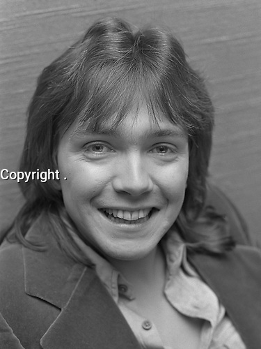 David Cassidy at Schiphol airport, Holland<br /> March 2, 1973