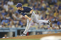 05/31/12 Los Angeles, CA: Milwaukee Brewers relief pitcher Kameron Loe #50 during an MLB game between the Milwaukee Brewers and the Los Angeles Dodgers played at Dodger Stadium. The Brewers defeated the Dodgers 6-2.