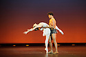 """London, UK. 08.12.2015. Carlos Acosta presents CLASSICAL SELECTION, at the London Coliseum. Picture shows: Carlos Acosta, Marianela Nunez in """"Diana and Acteon"""", by Agrippina Vaganova.  Photograph © Jane Hobson."""