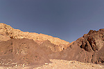 Israel, Wadi Amram in Eilat Mountains