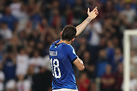 Nicolo Barella of Italy  celebrates after scoring a goal<br /> Reggio Emilia 22-06-2019 Stadio Città del Tricolore <br /> Football UEFA Under 21 Championship Italy 2019<br /> Group Stage - Final Tournament Group A<br /> Belgium - Italy<br /> Photo Cesare Purini / Insidefoto