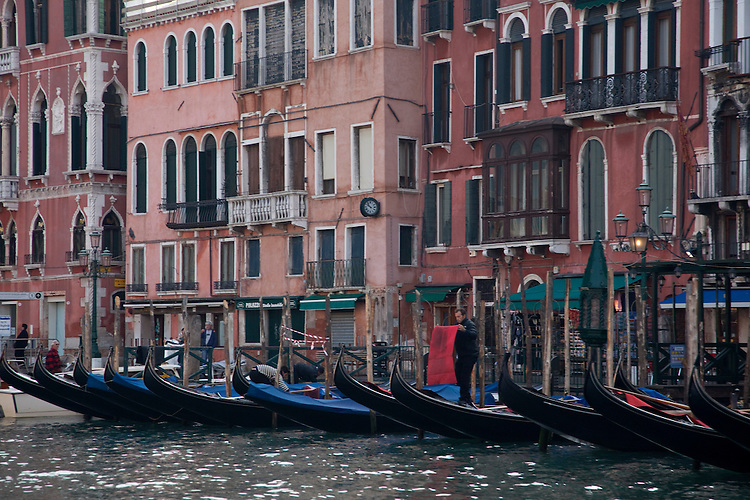 Venice is laced with 400 bridges and 2000 alleys and is Europe's best preserved big city