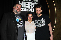 "Dean DeBlois, America Ferrara, Jay Baruchel<br /> at the ""How To Train Your Dragon 2"" Advaced Screening at Hero Complex Film Festival, TCL Chinese 6, Hollywood, CA 05-31-14<br /> David Edwards/DailyCeleb.Com 818-249-4998"
