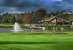 LIEREN - Green hole 18 met clubhuis. Golf- en Businessclub De Scherpenbergh. COPYRIGHT KOEN SUYK