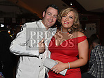 Rachel Howell celebrating her 21st birthday in The Venue at McHugh's with friend Anthony Weldon. Photo:Colin Bell/pressphotos.ie