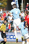 14 November 2010: UNC's Stephen McCarthy. The University of Maryland Terrapins defeated the University of North Carolina Tar Heels 1-0 at WakeMed Soccer Park in Cary, North Carolina in the ACC Men's Soccer Tournament Championship game.