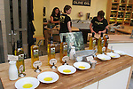 Olive oil tasting at Ferry Building