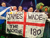 09.04.2015. Sheffield, England. Betway Premier League Darts. Matchday 10.  Darts fans at the 2015 Premier League Darts.