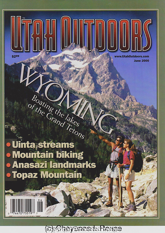 Utah Outdoors Magazine<br /> Grand Teton cover