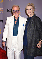 LOS ANGELES, CA - OCTOBER 04: Singer-actor Pat Boone (L) and actress-comedian Jane Lynch attend the CBS' 'The Carol Burnett Show 50th Anniversary Special' at CBS Televison City on October 4, 2017 in Los Angeles, California.<br /> CAP/ROT/TM<br /> &copy;TM/ROT/Capital Pictures