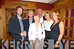 DINNER: Enjoying the Tralee Bay Swimming Club Annual Dinner in the Meadowlands Hotel, Tralee on Saturday night were John Edwards, Paudie Murphy, Joan Murphy, Kevin Williams, Ann Condon, Michaela Edwards