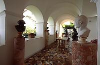 Italien, Capri, in der Villa San Michele in Anacapri, Wohnhaus von Axel Munthe