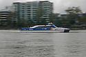 Brisbane River, Brisbane, Queensland, Australia, Wednesday, January 25, 2012. (Photo by John Pryke)