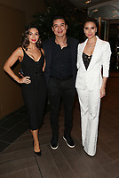 LOS ANGELES, CA - NOVEMBER 8: Courtney Lopez, Mario Lopez and Roselyn Sanchez at the Eva Longoria Foundation Dinner Gala honoring Zoe Saldana and Gina Rodriguez at The Four Seasons Beverly Hills in Los Angeles, California on November 8, 2018. Credit: Faye Sadou/MediaPunch