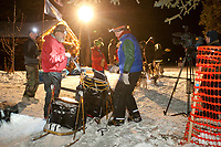 Linwood Fiedler at the Rohn checkpoint during Iditarod 2009