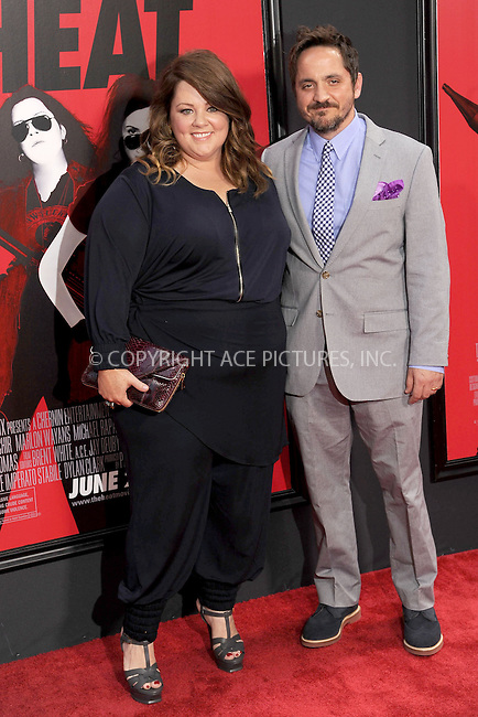 WWW.ACEPIXS.COM<br /> June 23, 2013...New York City <br /> <br /> Melissa McCarthy attending 'The Heat' New York Premiere at the Ziegfeld Theatre on June 23, 2013 in New York City.<br /> <br /> Please byline: Kristin Callahan... ACE<br /> Ace Pictures, Inc: ..tel: (212) 243 8787 or (646) 769 0430..e-mail: info@acepixs.com..web: http://www.acepixs.com