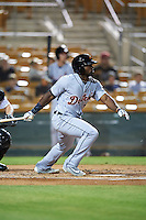Salt River Rafters Christin Stewart (20), of the Detroit Tigers organization, during a game against the Glendale Desert Dogs on October 19, 2016 at Camelback Ranch in Glendale, Arizona.  Salt River defeated Glendale 4-2.  (Mike Janes/Four Seam Images)