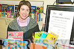 KIDS FUN: Hazel Joy of Cahersiveen Library which has unveiled a major programme of activities and events for young people in the area.