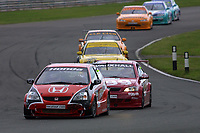 Round 4 of the 2002 British Touring Car Championship. #27 Alan Morrison (GBR). Honda Racing. Honda Civic Type-R.