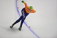 SCHAATSEN: Calgary: Essent ISU World Sprint Speedskating Championships, 28-01-2012, 1000m Dames, Thijsje Oenema, ©foto Martin de Jong