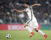 Juventus' Sami Khedira in action during the Champions League round of 16 soccer match against Porto at Turin's Juventus Stadium, 14 March 2017. Juventus won 1-0 (3-0 on aggregate) to reach the quarter finals.<br /> UPDATE IMAGES PRESS/Isabella Bonotto