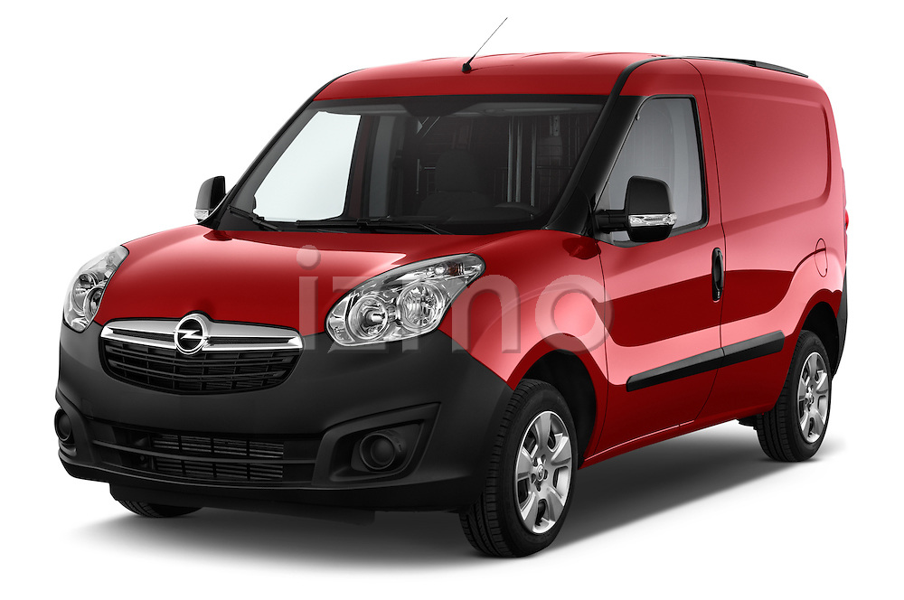 2015 Opel COMBO LiHI 4 Door Cargo Van 2WD Angular Front stock photos of front three quarter view