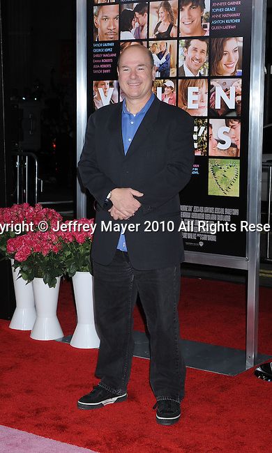 "HOLLYWOOD, CA. - February 08: Larry Miller arrives at the ""Valentine's Day"" Los Angeles Premiere at Grauman's Chinese Theatre on February 8, 2010 in Hollywood, California."