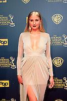 BURBANK - APR 26: Veronica Dunne at the 42nd Daytime Emmy Awards Gala at Warner Bros. Studio on April 26, 2015 in Burbank, California