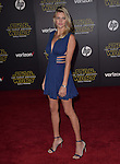 Kelly Rohrbach<br />  at Star Wars: The Force Awakens World Premiere held at El Capitan Theatre in Hollywood, California on December  14,2015                                                                   Copyright 2015Hollywood Press Agency