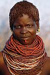 Bumi tribeswoman, Murle Region, Ethiopia