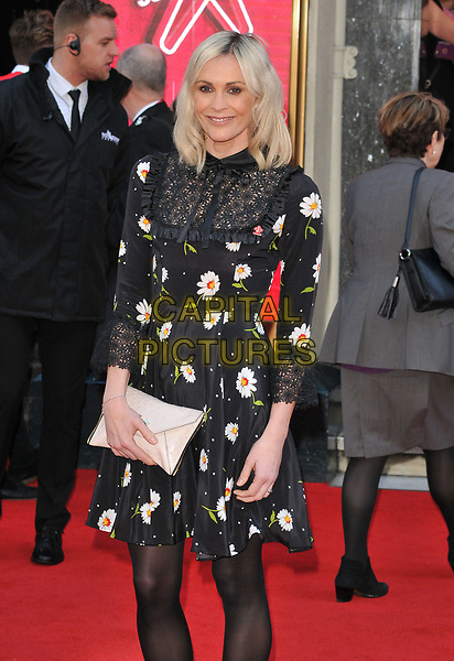 Jenni Falconer at the Prince's Trust and Samsung Celebrate Success Awards 2017, The London Palladium, Argyll Street, London, England, UK, on Wednesday 15 March 2017.<br /> CAP/CAN<br /> &copy;CAN/Capital Pictures