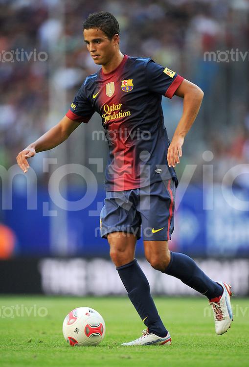 FUSSBALL   1. BUNDESLIGA   SAISON 2012/2013   TESTSPIEL  Hamburger SV - FC Barcelona            24.07.2012 Ibrahim Afellay (FC Barcelona) Einzelaktion am Ball