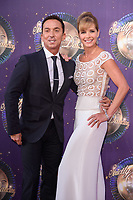 Bruno Tonioli &amp; Darcey Bussell at the launch of the new series of &quot;Strictly Come Dancing&quot; at New Broadcasting House, London, UK. <br /> 28 August  2017<br /> Picture: Steve Vas/Featureflash/SilverHub 0208 004 5359 sales@silverhubmedia.com